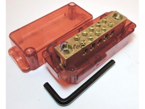 Meter Link 350A 7 Tunnel Red