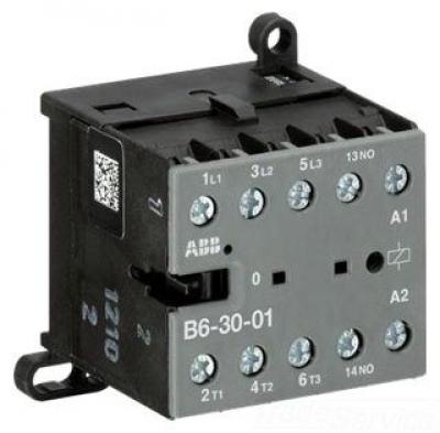 ABB contactor Mini 4 Pole 4kW 240v AC