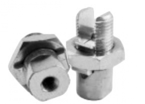 185mm drilled & tinned line tap - M6 thread base