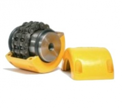 C6018 Chain Coupling Complete With Cover - Pilot Bore