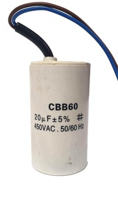 Run Capacitor 20uf 450v Comes With Leads
