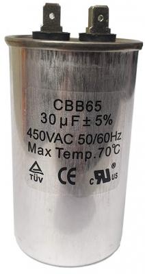 Run Capacitor 30uF 450v Metal (P2)