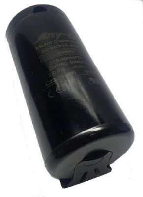Start capacitor 315-400uF 250V plastic (46-85mm) P1 with terminals