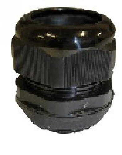 M25 thread nylon gland - suit 13-18mm cable  (Order 16 For Box)