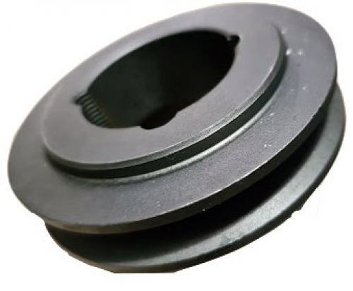 112mm PCD x 1 SPA cast iron pulley - suits 1610 bush