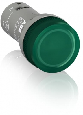 Pilot Lamp Green LED 48 - 60 VAC/DC