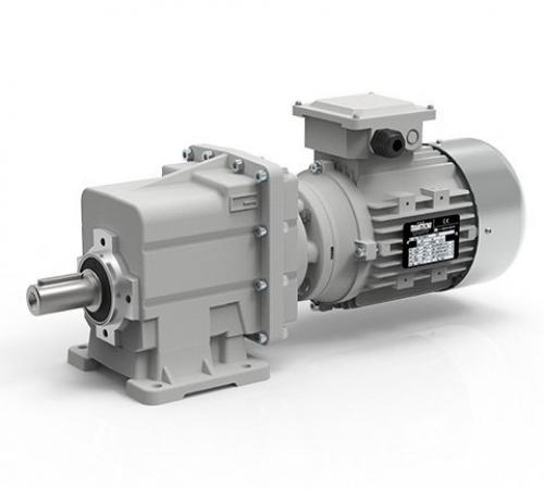 Transtecno Alloy Helical Inline Gearbox CMC002 Ratio 55.1/1 16mm Solid Output Sh