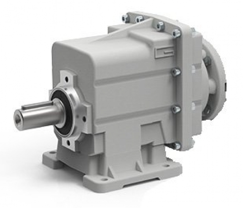 Transtecno Alloy Helical Inline Gearbox CMC032 Ratio 60.8/1 30mm Solid Output Sh