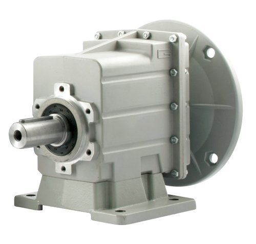 Transtecno Alloy Helical Inline Gearbox CMC042 Ratio 6.31/1 35mm Solid Output Sh