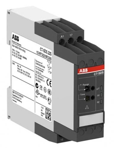 ABB Star/delta timer, 2N/O contacts, 24-48Vdc / 24-240Vac