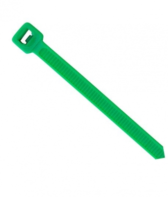 Green Nylon Cable Ties - 200mm x 4.6mm