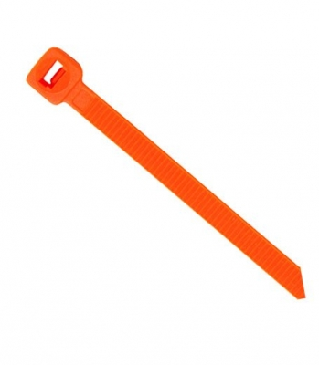 Orange Cable Ties 200mm x 4.6mm