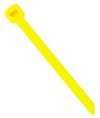 Yellow Nylon Cable Tie - 200mm x 4.8mm