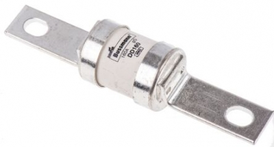 BS88 HRC Fuse Link 160A, CENTRE BOLTED, 111mm CENTRES