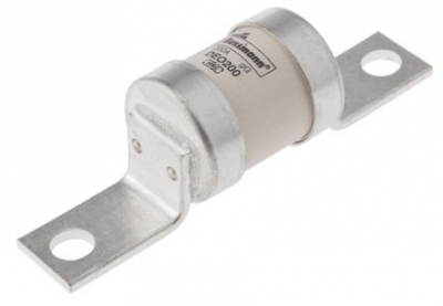 Bussmann DEO offset bolted tags fuse link 200A