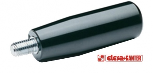 i.280-p black cylindrical handle - 80mm series with M10x16 thread
