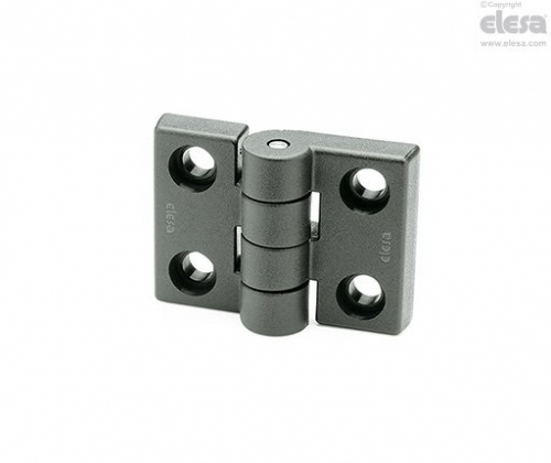 Hinge CFH.50 CH-8 69.5mm Wide x 50mm High M8 Bolts Hole spaced 45.5mm Wide x 30m