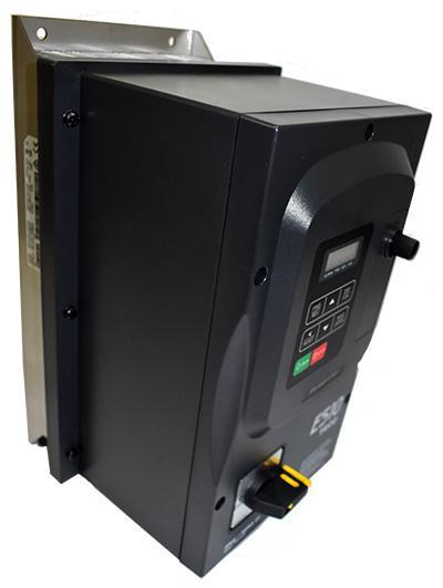 Teco E510 IP66 0.75kW 200-240V 1ph 4.5A, RFI Filter, Frame 1, S/Torque 150%/3Hz(