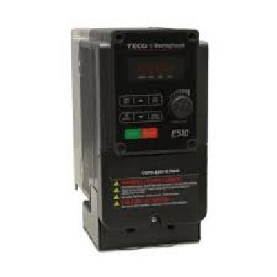 Teco E510 IP20 0.75kW 200-240V 1ph 4.5A RFI Filter, Frame 1, S/Torque 150%/3Hz(V