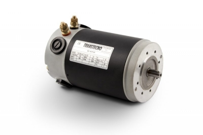 Transtecno 12v DC Motor 70W, 3000RPM, D56 B14A Flange, 9mm Shaft, IP44