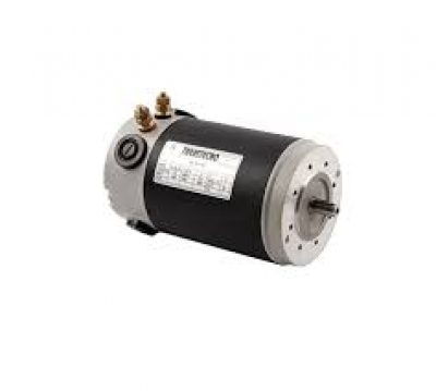 Transtecno 24v DC Motor 100W, 3000RPM, D56 B14A Flange, 9mm Shaft, IP44
