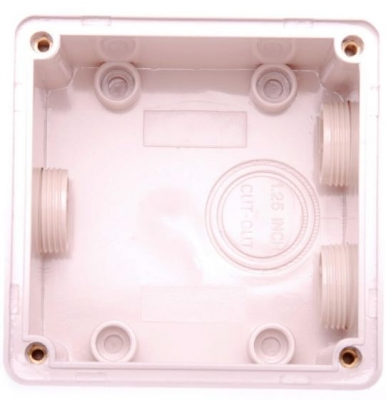 Enclosure Pulset 1 Gang IP56 Deep Back Block Standard Box