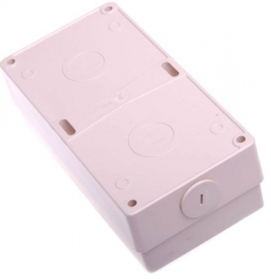 Enclosure Pulset 2 Gang IP56 Back Block