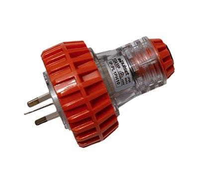 Plug Pulset 3 Pin 10A 1 Phase 240v IP56