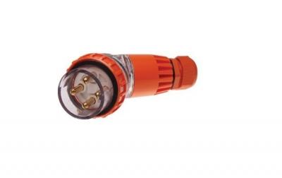 Plug Angled Pulset 4 Pin 40A 3 Phase 415v IP56