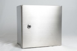 RCG stainless steel Enclosure 316 grade 500x400x250mm - Wall mounting