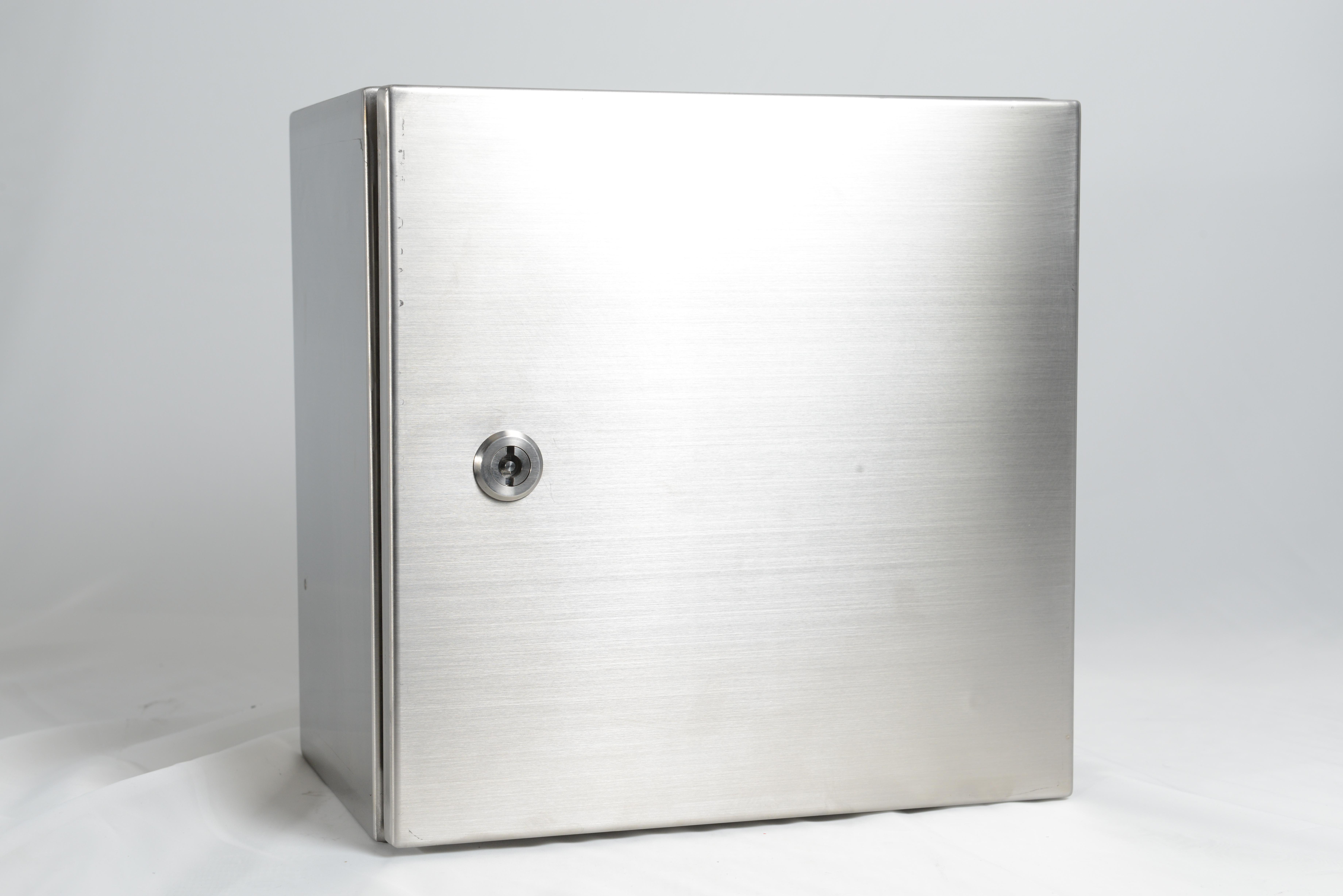 RCG stainless steel Enclosure 316 grade 800x800x300mm - Wall mounting
