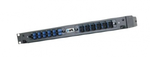 1RU sliding modular fibre optic rack enclosure
