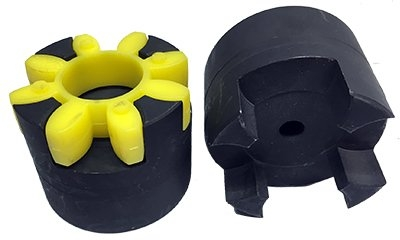 GE28 Curved Jaw Coupling Hub - Non Stepped Boss