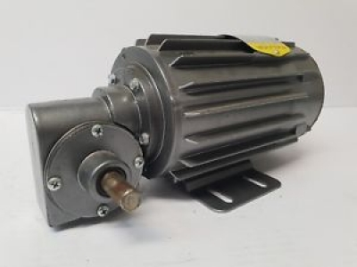 Baldor right-angle shaft ratio 15 geared motor 415V AC 3Ph