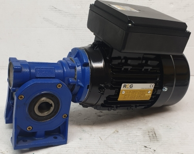 Spaggiari SW50 R5 F80 280rpm gearbox c/w RCG 1HP 0.75kW 1400rpm single phase mot