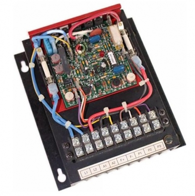 DC SCR Speed Controller, Chassis Mount, Relay Reversing, 230v AC, Max 3 HP, 180v