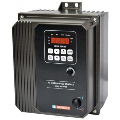 AC NEMA-4X Digital Inverter, 230v AC 3 Phase In, Max 5.0 HP, 230v AC 3 Phase Out
