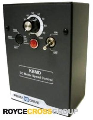 DC SCR Speed Controller, NEMA 1 Reversing Optional, 115/230v AC, Max 0.75/1.5 HP