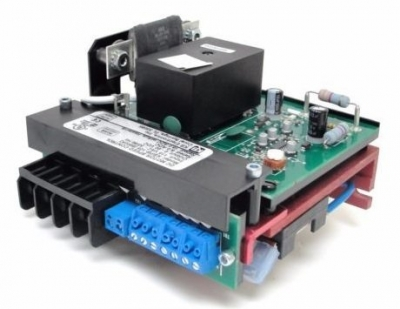 DC SCR Speed Controller, Chassis Mount, Relay Reversing, 115v AC, Max 0.75 HP, (