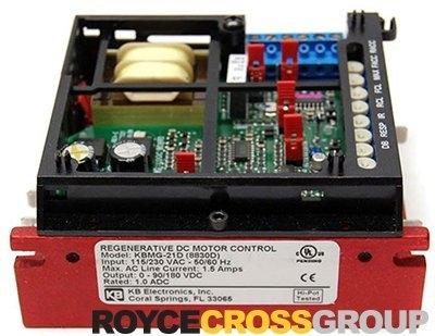 DC SCR Speed Controller, Chassis Mount, Regen Reversing, 115/230v AC, Max 1.5/3.