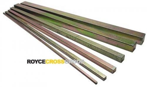 "Key Steel 1"" x 1"" - 300mm Length"