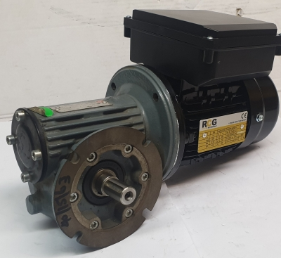 Pujol Wormbox LBC40 Ratio 15/1, 93rpm With RCG 0.18Kw 4 Pole 1 Phase 240V Electr