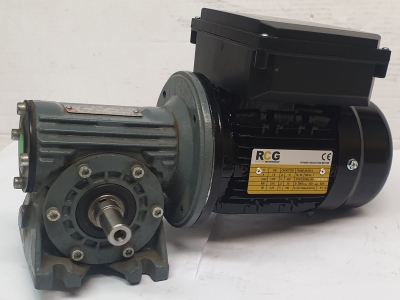 Pujol Wormbox LPC40 Ratio 10/1, 140rpm With RCG 0.18kW 4 Pole 1 Phase 240V Elect