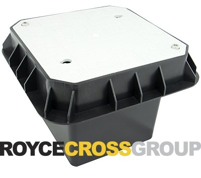Inspection Pit (Polymer) - 5T Trafficable, 180W x 180L x 210Dmm