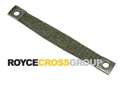 Tinned Copper Braid (55Sqmm) x 200mm / M12 Palms