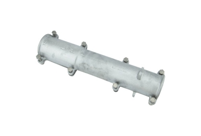 IN-LINE COUPLING, ALUMINIUM to FRP SUPPORT MAST