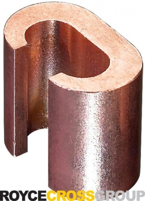 Copper C Connector Compression Clamp - 10-35mm Run/10-35mm Tap