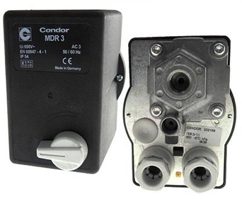 Pressure switch 3/1100 10amp overload port 415V art NO 228370