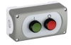 Control Station, 2x Push Button Green/Red IP65