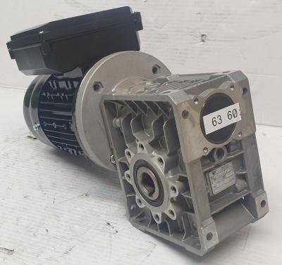 Siti MU63 R80 F71B14A 18rpm gearbox c/w RCG 1/2HP 0.37kW 1400rpm 240V motor